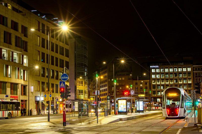Zimmer lightings luxtram luxembourg