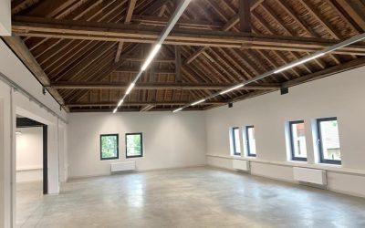 Éclairage bureaux & showroom Wolff Weyland